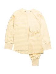 2-piece pyjamas - L.YELLOW/S.YELLOW