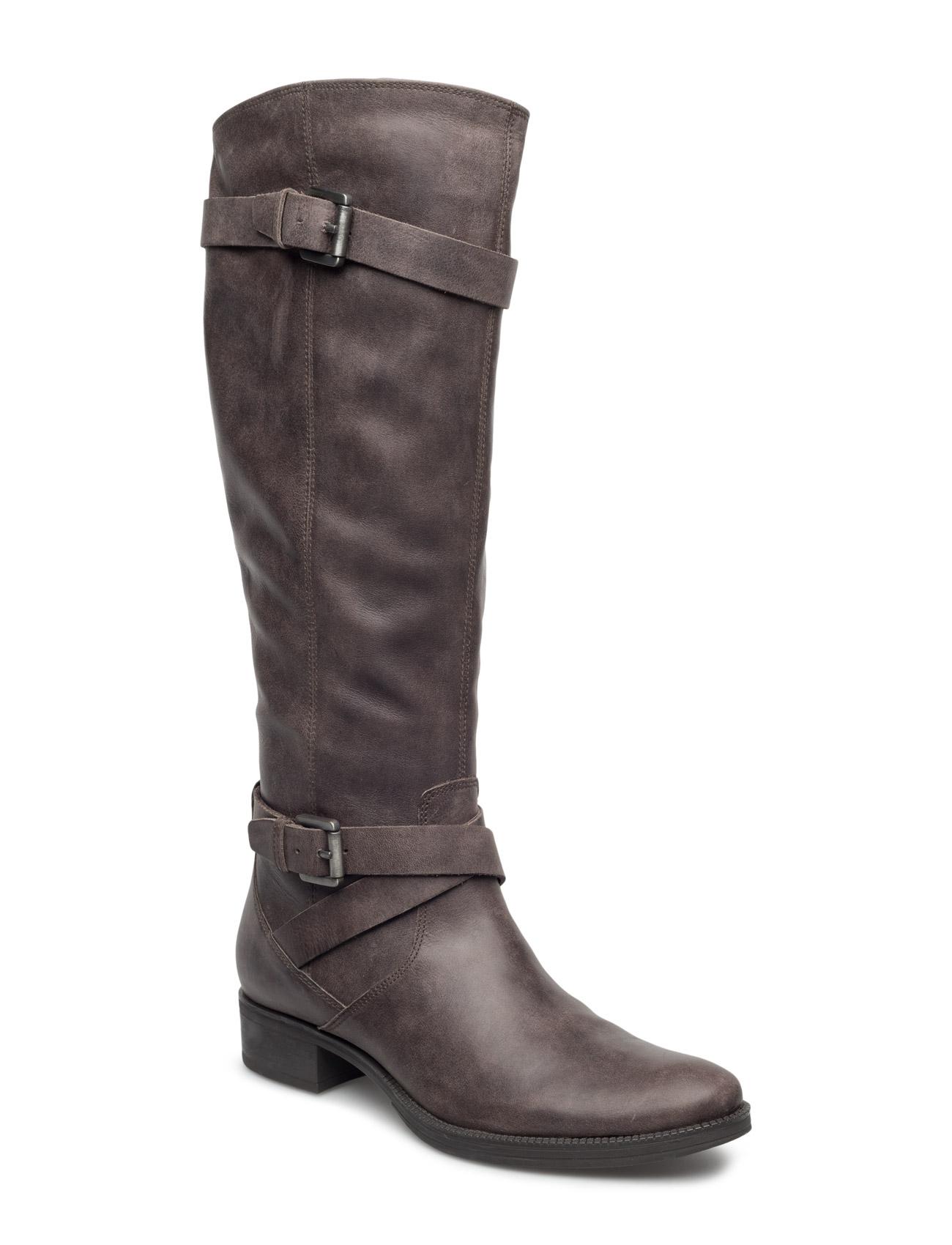 D Mendi Stivali GEOX Støvler til Kvinder i kastanje