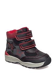 B NEW GULP BOY B ABX - BLACK RED