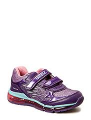 J ANDROID GIRL Sneakers - VIOL/GREEN
