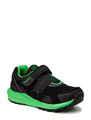 J ASTEROID BOY Sneakers - blck green