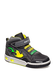 JR GREGG - BLK/LIME