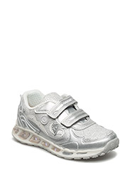 J SHUTTLE GIRL - SILVER/WHT