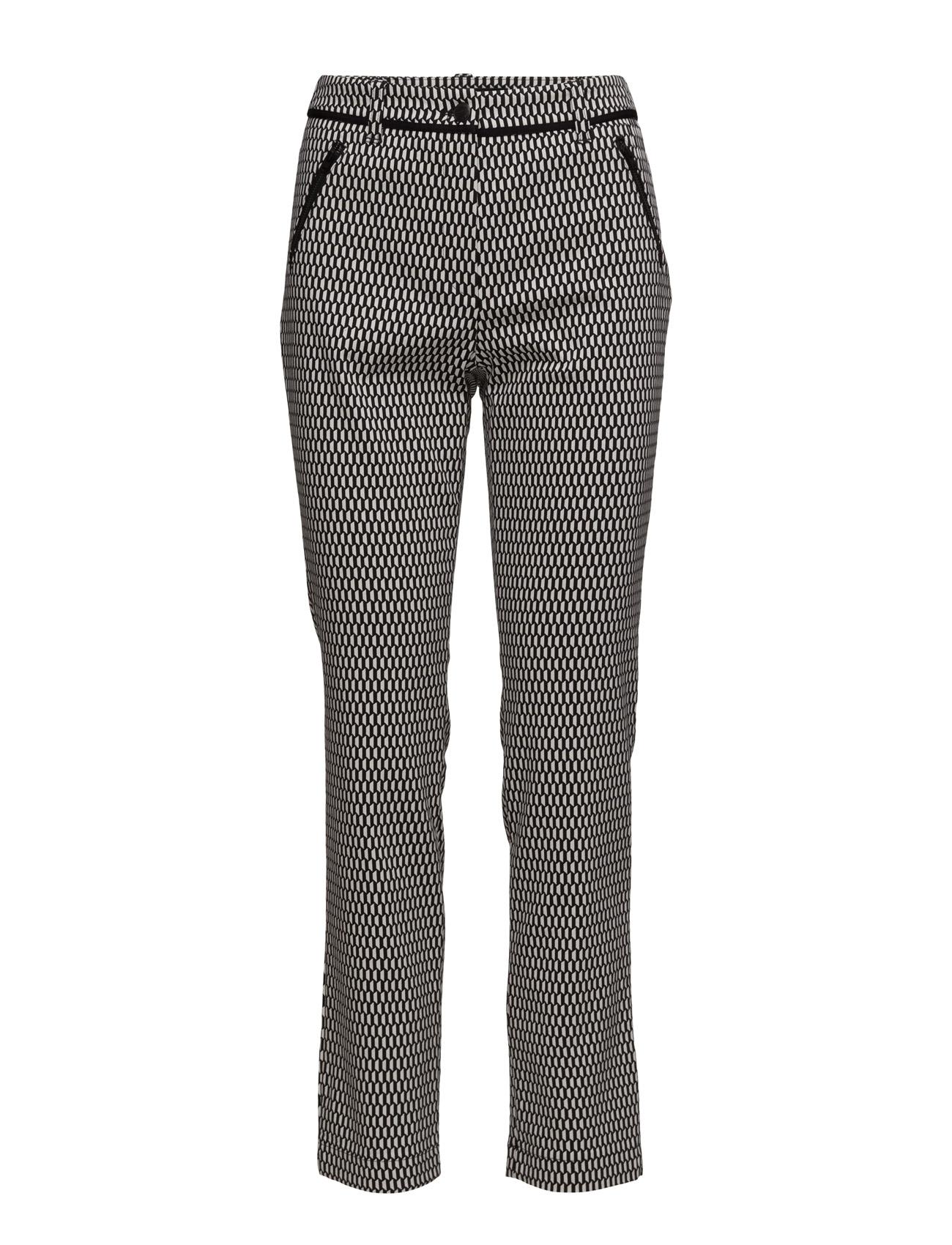 Crop Leisure Trouser Gerry Weber Edition Bukser til Kvinder i Sort