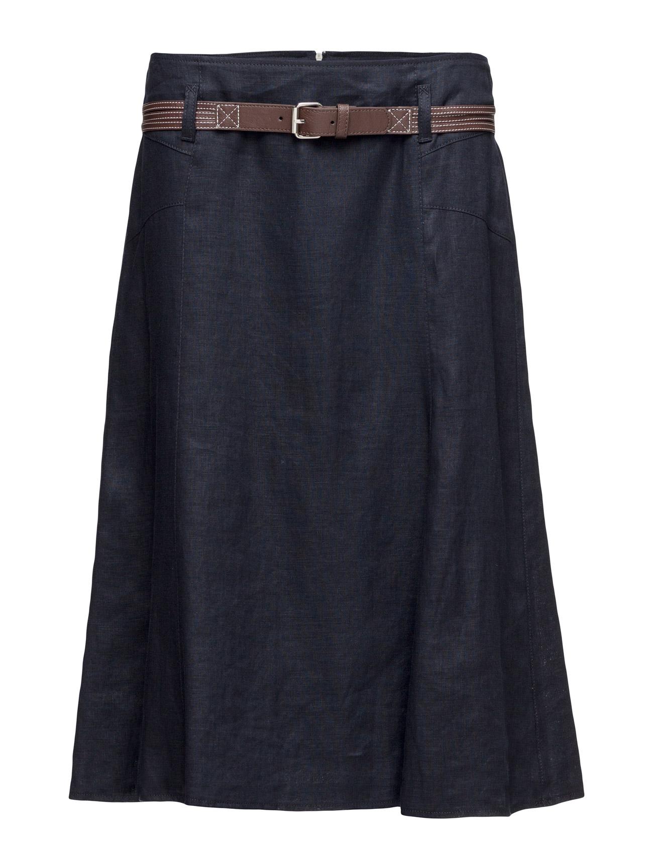 Skirt Short Woven Fa Gerry Weber Edition Knælange & mellemlange til Damer i Navy blå