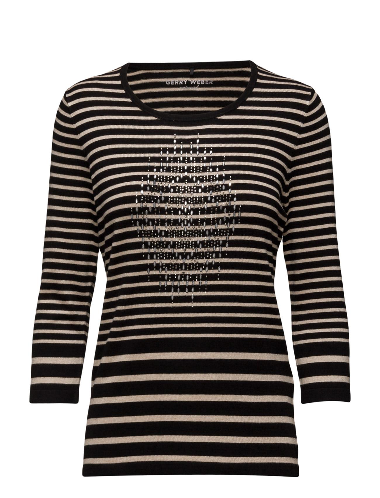Pullover 3/4-Sleeve Gerry Weber Edition Sweatshirts til Kvinder i Blå
