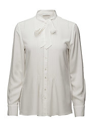 BLOUSE LONG-SLEEVE - OFF-WHITE