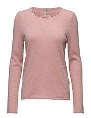 PULLOVER LONG-SLEEVE - BLUSH-MELANGE