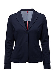 BLAZER SWEAT/STRICK - DRESS BLUES