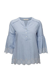 TUNIC / LONGBLOUSE - LIGHT BLUE