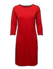 DRESS KNITTED FABRIC - CHILI