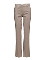 LEISURE TROUSERS LONG - TAUPE