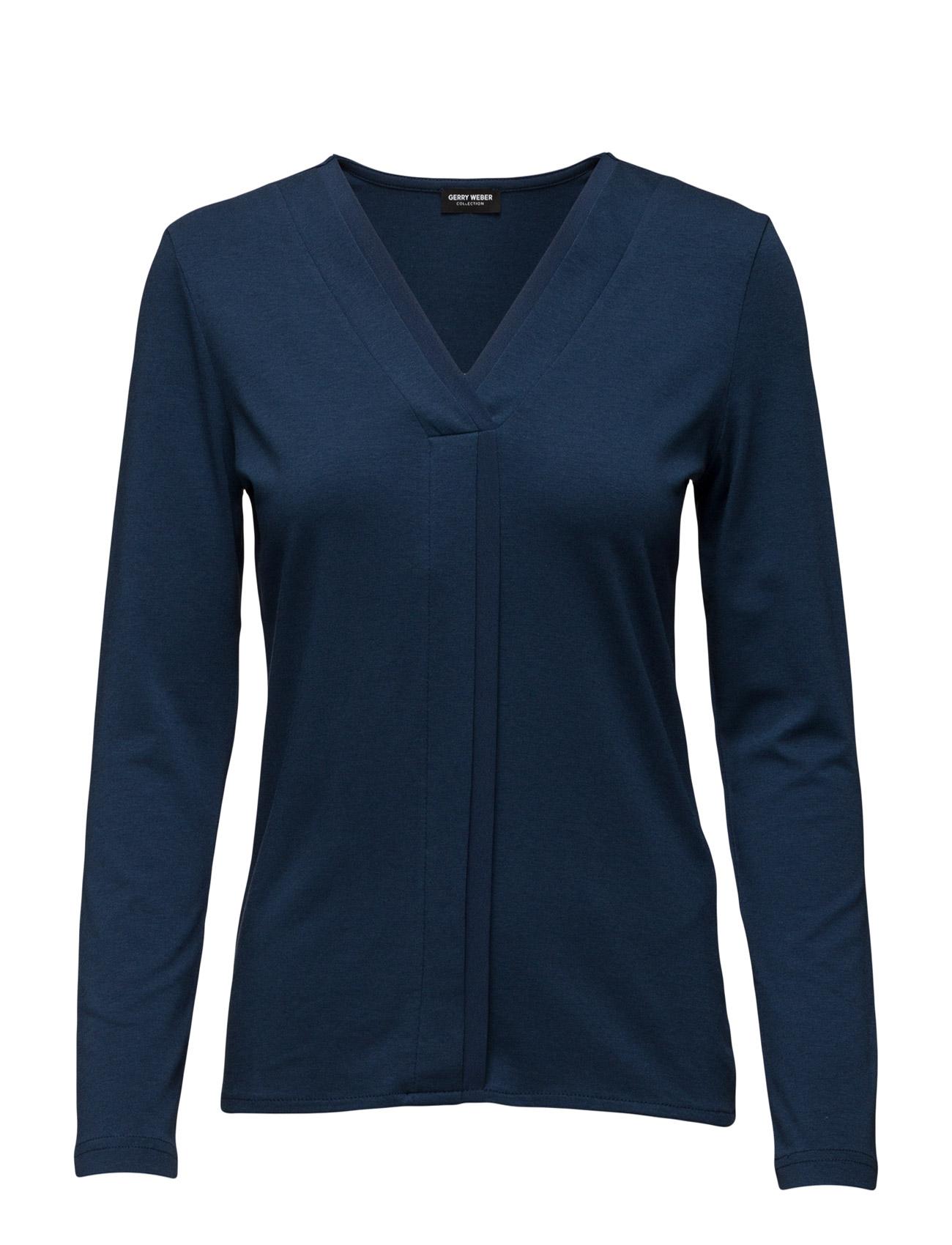 T-Shirt Long-Sleeve Gerry Weber Langærmede til Damer i Cobalt