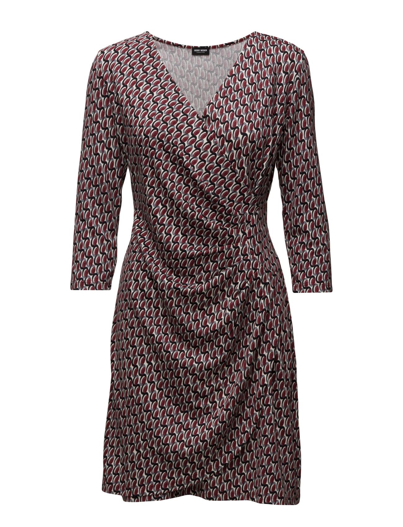 Dress Knitted Fabric Gerry Weber Knælange & mellemlange til Kvinder i Ecru