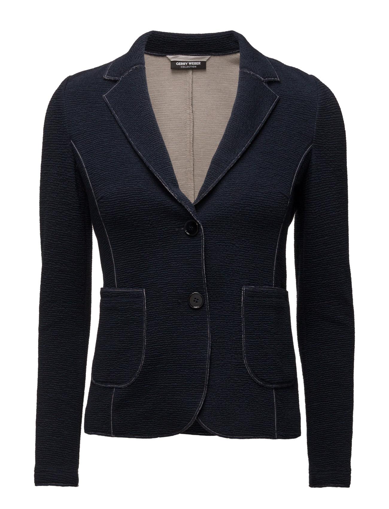 Blazer Long-Sleeve U Gerry Weber Blazere til Kvinder i indigo