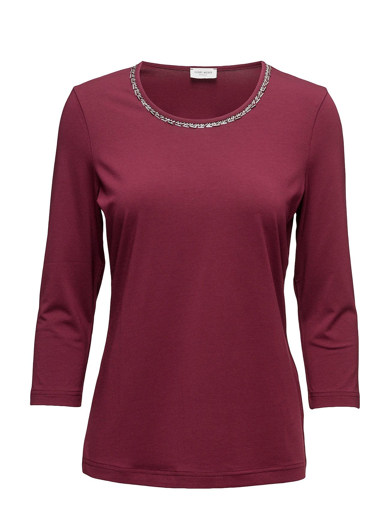 T-Shirt 3/4-Sleeve R Gerry Weber Langærmede til Damer i Vin
