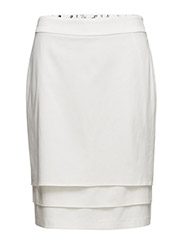 SKIRT SHORT WOVEN FA - OFF-WHITE