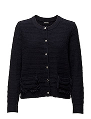 JACKET KNITWEAR - NAVY