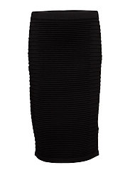 SKIRT KNITWEAR - BLACK