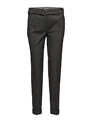 TROUSERS LEISURE SPE - STEEL