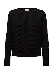JACKET KNITWEAR - BLACK