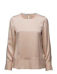BLOUSE LONG-SLEEVE - PEACH