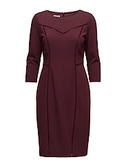 DRESS WOVEN FABRIC - MERLOT