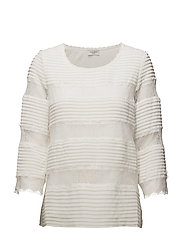BLOUSE 3/4-SLEEVE - SALT