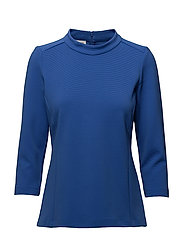 BLOUSE 3/4-SLEEVE - ELECTRIC BLUE