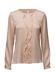 BLOUSE LONG-SLEEVE - ROSE