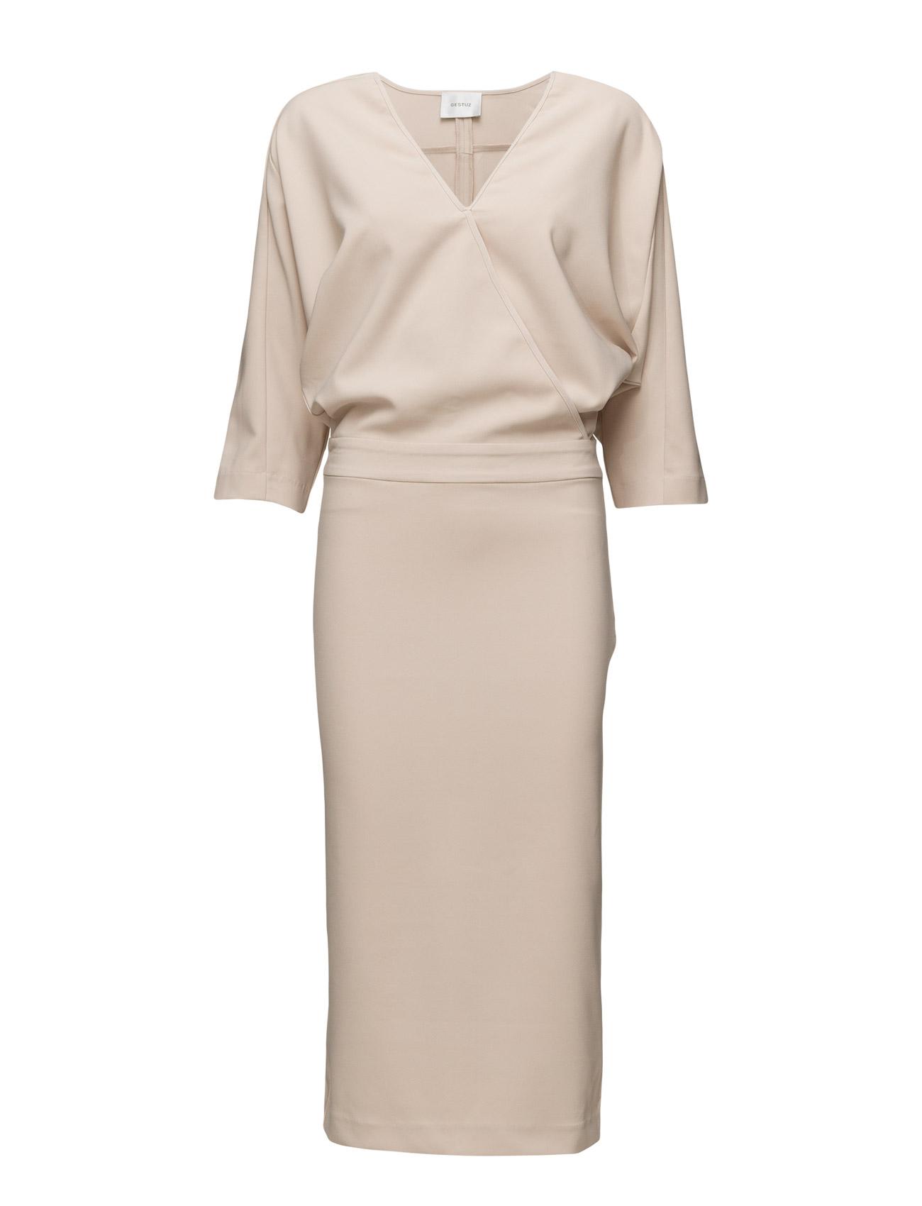 Joelle Dress Ms16 Gestuz Maxi Kjoler til Kvinder i Deep Well