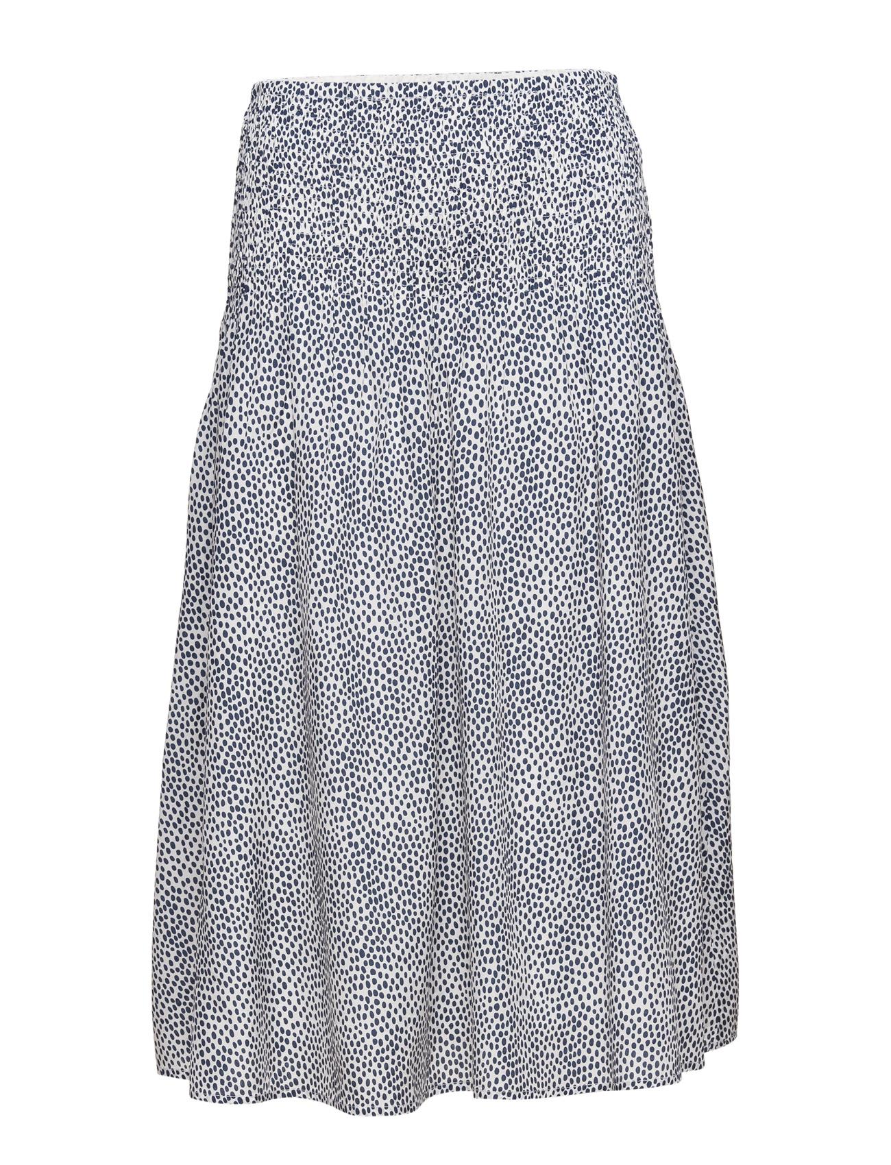 1e01235166bf Tacel Skirt Ao16 Gestuz Knælange   mellemlange til Kvinder i Navy Print