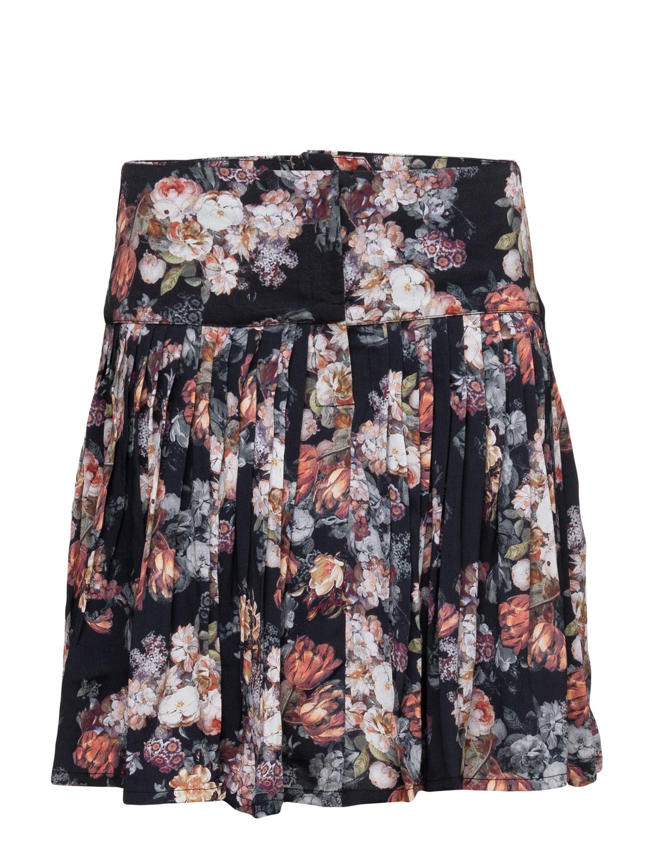 Steph Skirt Hs16 Gestuz Korte til Kvinder i Sort