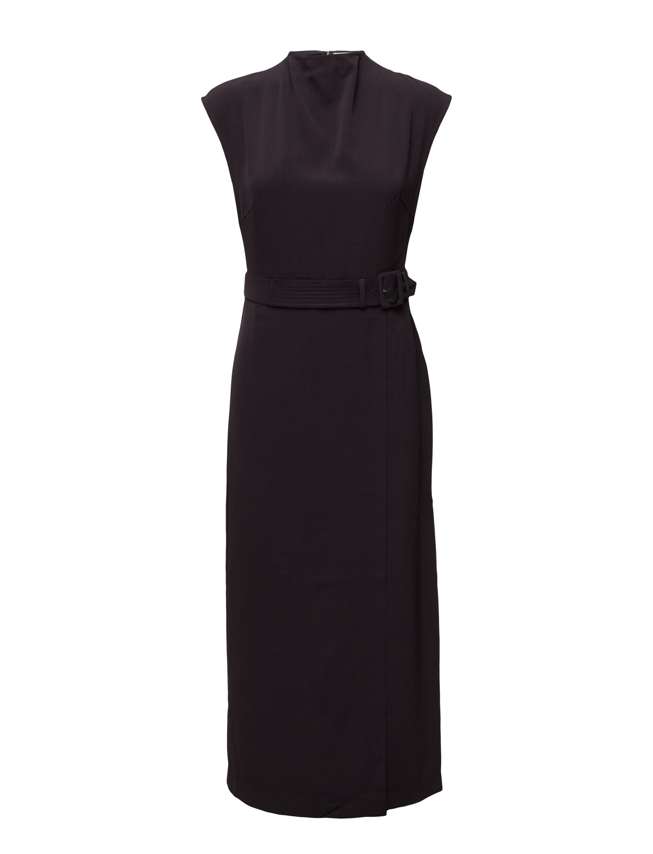 Anine Long Dress Ma16 Gestuz Knælange & mellemlange til Damer i Navy Blazer