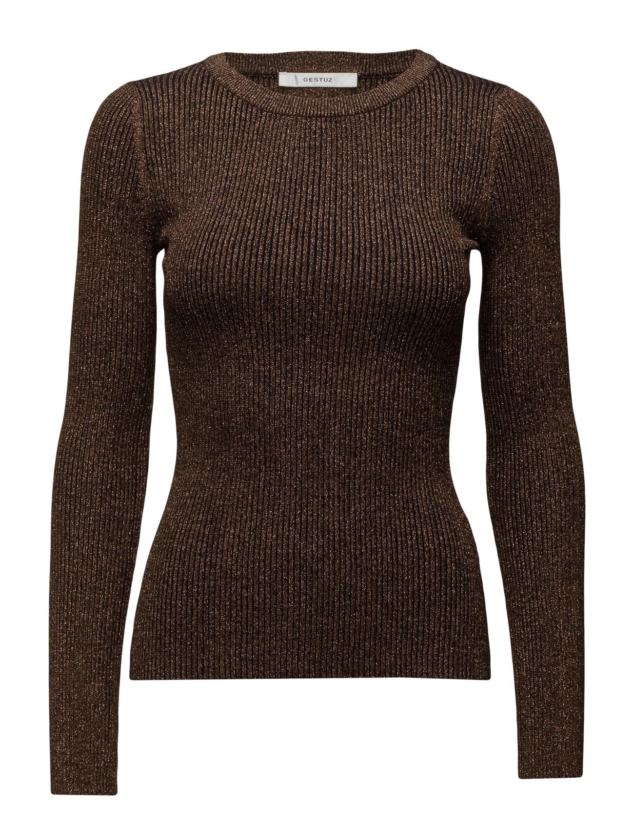 Donna Pullover Ye16 Gestuz Sweatshirts til Kvinder i Kobber
