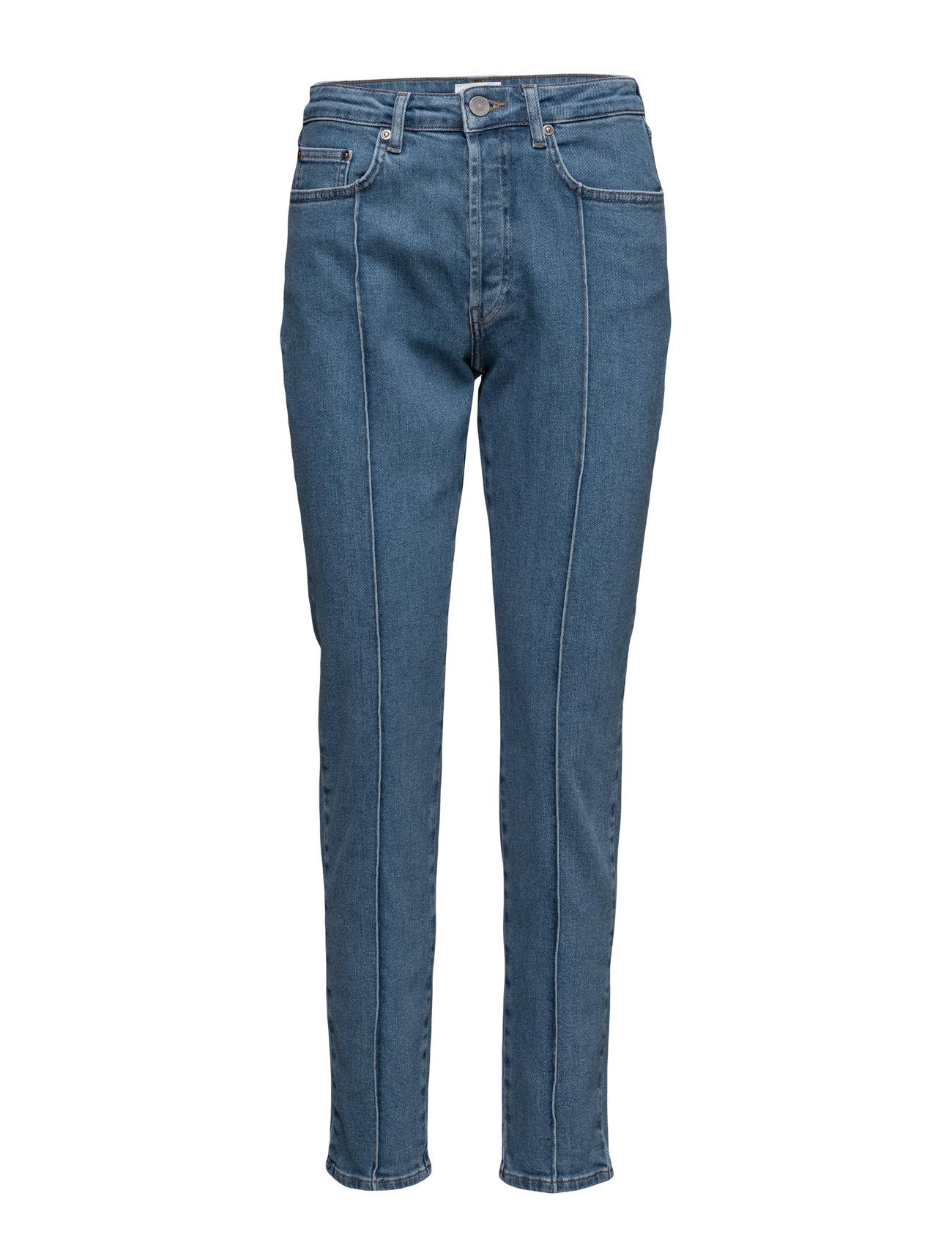 Cecily Jeans So17 Gestuz Jeans til Kvinder i Medium Blå