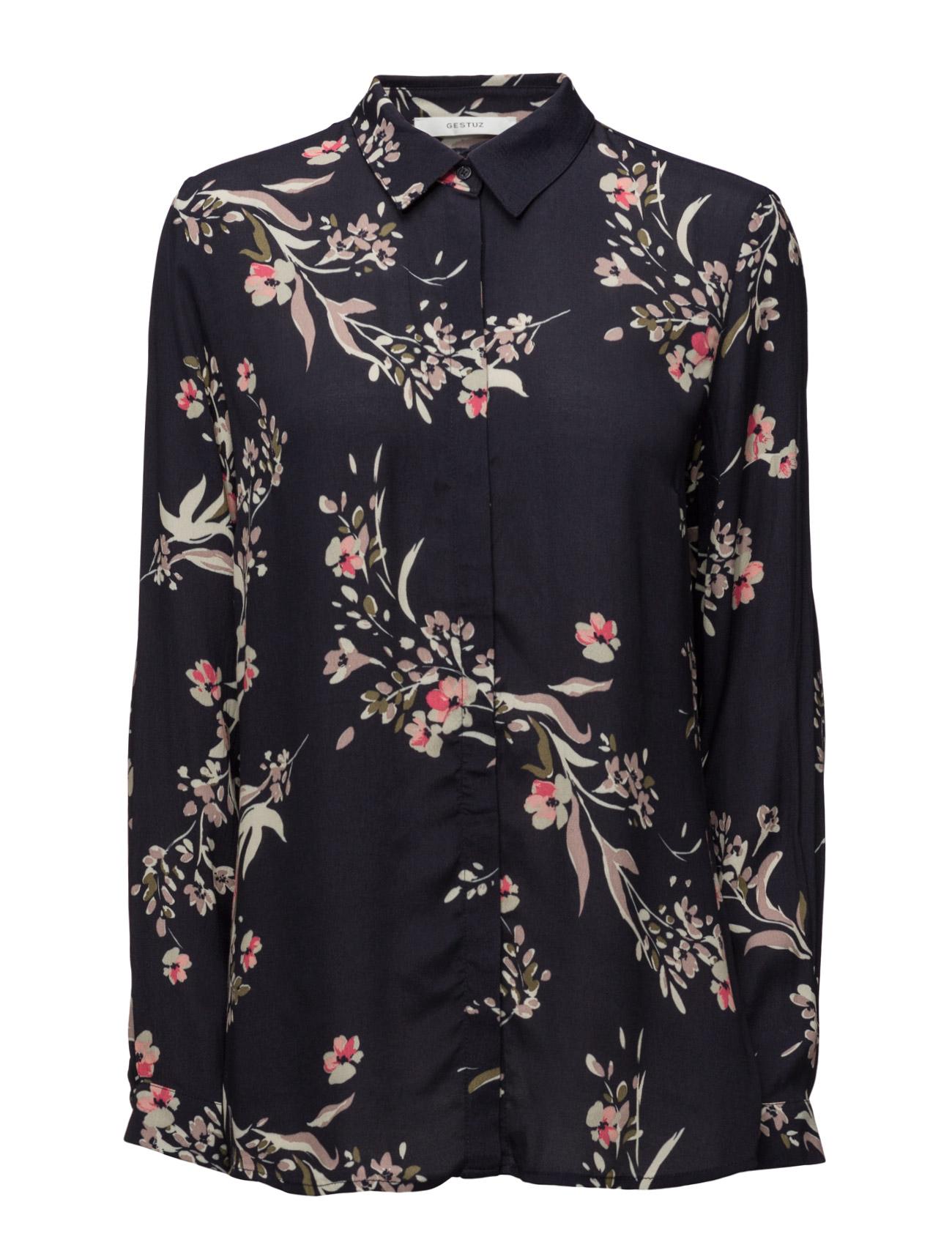 Oda Shirt Ms17 Gestuz Langærmede til Damer i