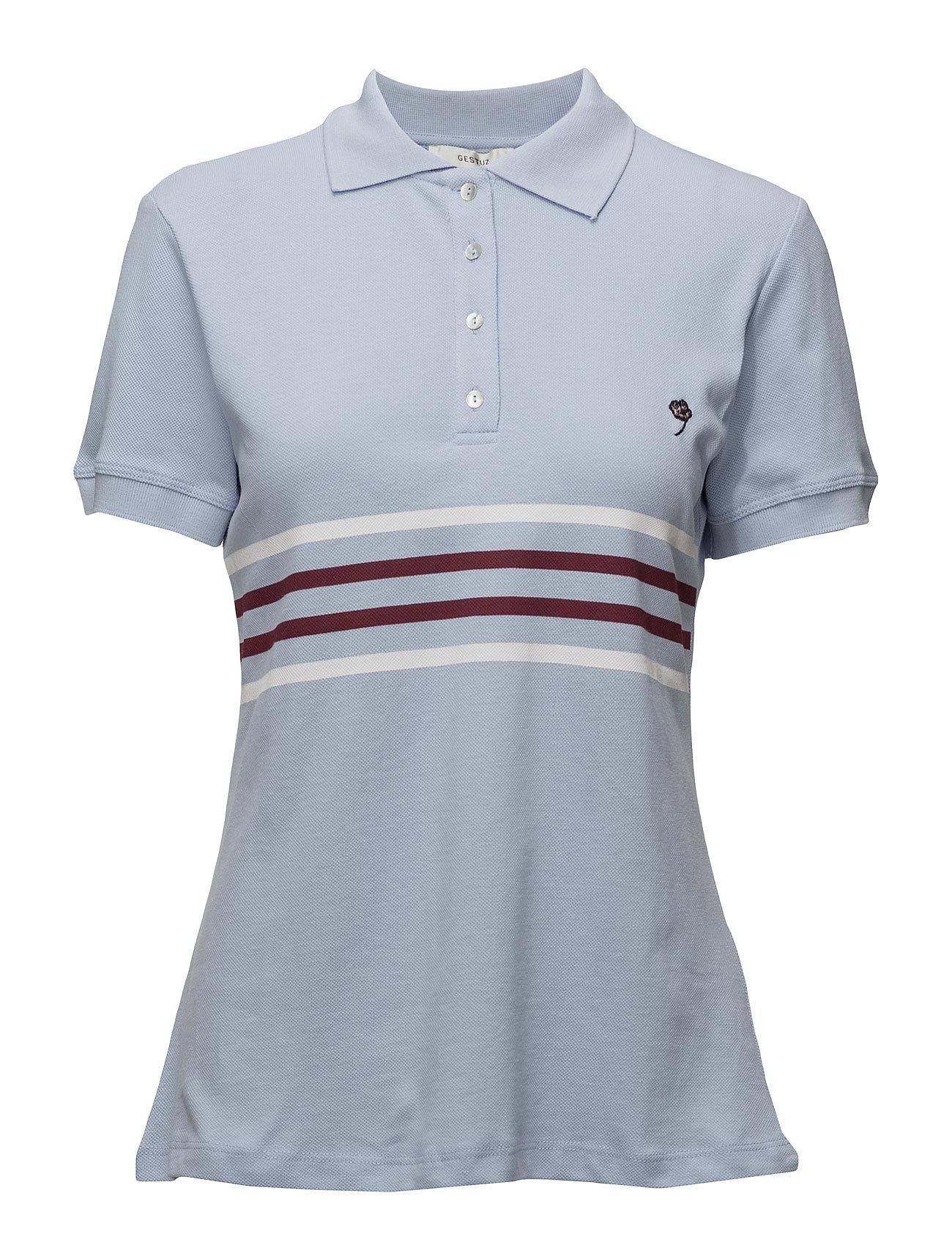 BjˆRk Ss Top Ao17 Gestuz Polo t-shirts til Damer i Kentucky Blå