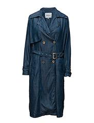 Kendall coat SO16 - DENIM BLUE
