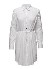 Isa long shirt HS16 - BRIGHT WHITE