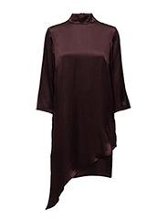 Blaze dress AO16 - DEEP BOURGONE