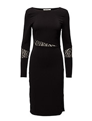Emira dress YE16 - BLACK