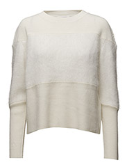 Euna pullover YE16 - CLOUD DANCER