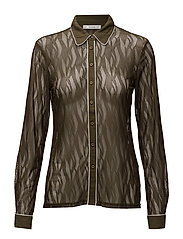 Siga shirt MS17 - BROWN OLIVE