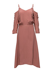 Jeannine dress MS17 - CANYON ROSE