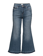 Trina culotte ZE3 16 - DENIM BLUE