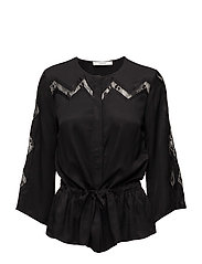 Ann blouse AO17 - BLACK