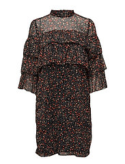 Mally dress AO17 - SMALL DOT PRINT