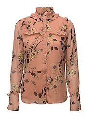 Pama shirt AO17 - LIGHT PINK PRINT
