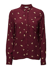 Amberly shirt AO17 - ZINFANDEL FLOWER PRINT